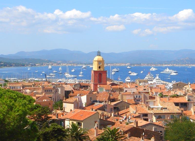 Le golfe de Saint-Tropez