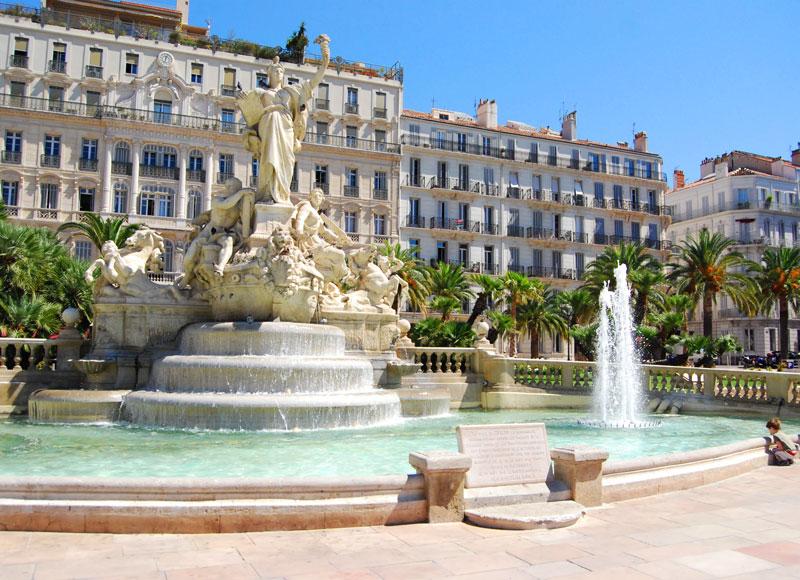 Toulon place Liberté