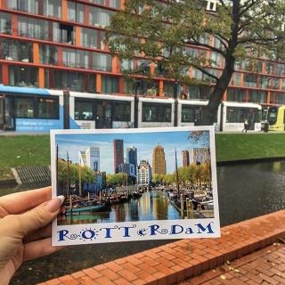 Rotterdam fait partie des villes que vous pourrez découvrir cette année grâce à nos vols directs avec @transavia au départ de l'aéroport Toulon Hyères 😍 . . 📷 @blondi2908 . . #DepartToulonHyeres #Voyage #Decouverte #Aeroport #spotter #Aviationspotter #transavia #hollande #rotterdam #europe #visiteurope