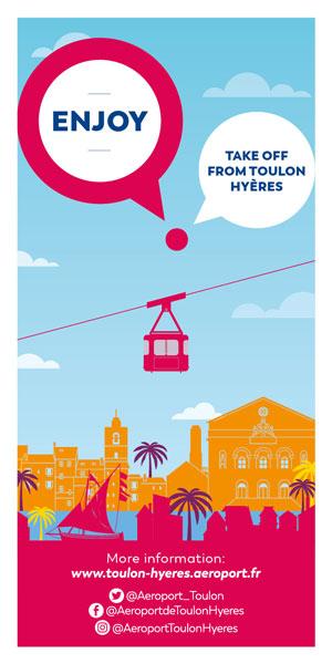 Enjoy, take off from Toulon Hyères!