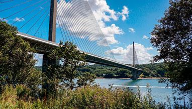 Pont de l'Iroise bridge